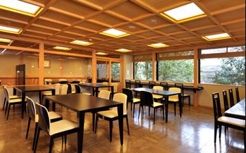 森八茶寮 席の写真